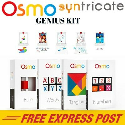 Osmo App Enabled Education Game System Genius Kit for iPad 9.7 /Pro/Air 2/4/3/2