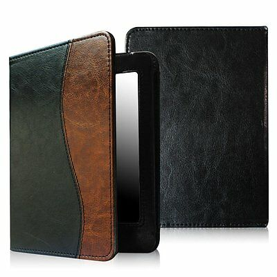 For All Versions Amazon Kindle Paperwhite 6'' Folio Case Cover Book Style