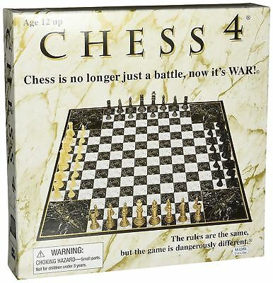 Chess Board Game John N Hansen Chess 4 Four Players Non Traditional 20 x 20 Inch
