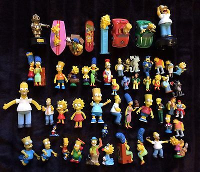 THE SIMPSONS PACKAGE: Toys + Figurines + Wallet + Backpack + Alarm Clock + More