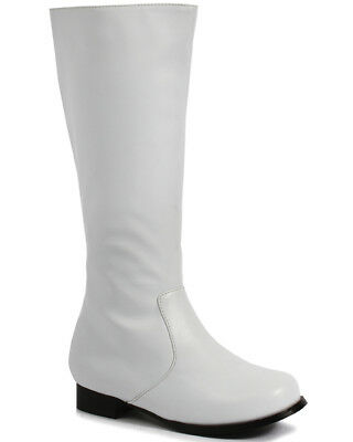 White Captain Boys Boots