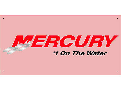 Advertising Display Banner for Mercury Sales Service Parts