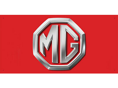 Advertising Display Banner for MG Sales Service Parts