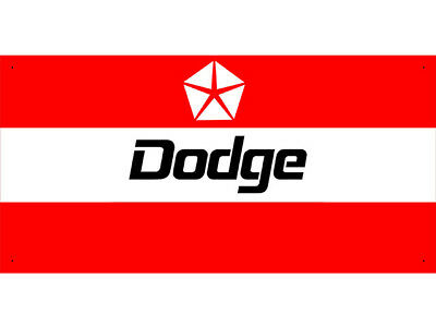 Advertising Display Banner for DODGE Sales Service Parts