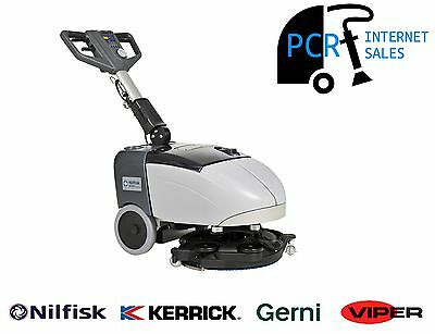 NILFISK SC351 Compact Walk Behind Scrubber/Dryer Battery Operated
