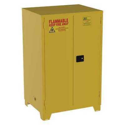 Flammable Safety Cabinet,90 Gal.,Yellow JAMCO FS90YP
