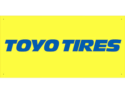 Advertising Display Banner for Toyo Tires Sales Service Parts