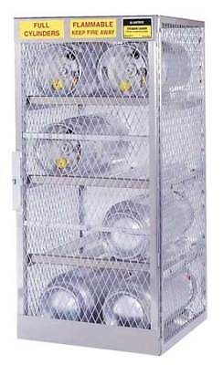JUSTRITE 23001 Gas Cylinder Cabinet,30x32,Capacity 4 G2142126