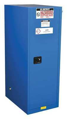 Haz Material Safety Cabinet,54 Gal,Blue