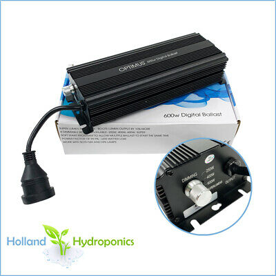 600W Digital Ballast Grow Light HPS/MH Plant Lamp Hydroponic Tents
