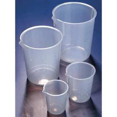 GLOBE SCIENTIFIC BPM0600P Beaker,Polypropylene,600mL,PK5