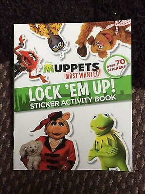 Muppets Most Wanted Sticker Book