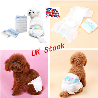 Pet Dog Puppy Disposable Diaper Outdoor Nappy Physiological Sanitary Underwear