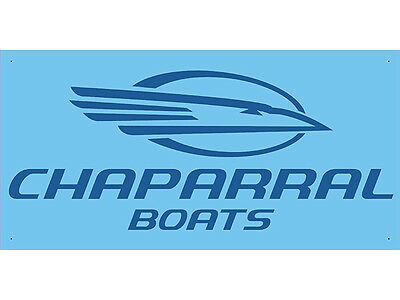 Advertising Display Banner for Chaparral Boats