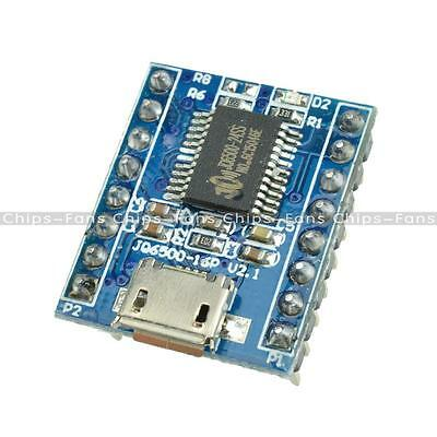 JQ6500 Voice Module Sound Module MCU 5 Channel Serial Control MP3 Music Play SPI