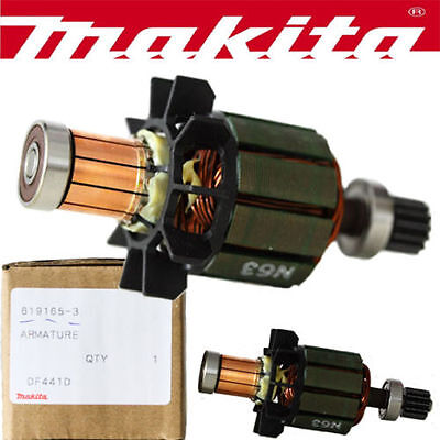 Makita 619165-3 Genuine Armature Motor For Bdf451 Bhp451