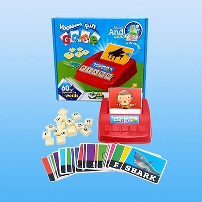 Kids Educational Toy English Spelling Alphabet Letter Game Early Learning Tool