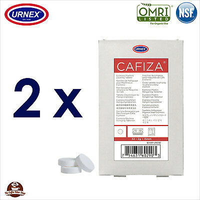 2 x Urnex 32 Cleaning Tablets Cleaner organic for Jura Espresso Machine