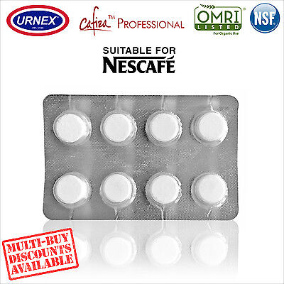 Urnex 8 Cleaning Tablets Cleaner organic for Nescafe Espresso Coffee Machine