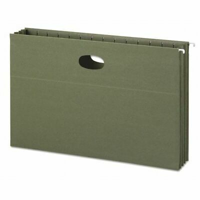 SMEAD 64326 Hanging Pocket Folder, Legal, Green, PK10