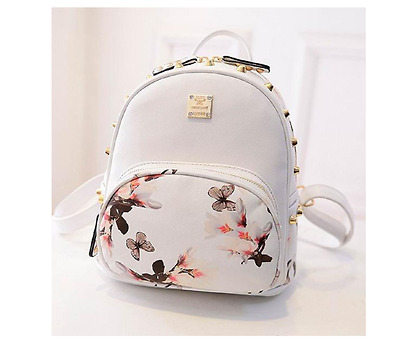 e2ed8e4c90 Best Lightweight Backpack Mini for Cute Hipster Women Adult Girl White  Bookbag