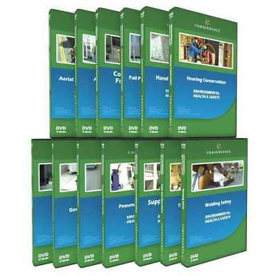 CONVERGENCE TRAINING C-066 Construction Safety,13 DVD Combo G3891399