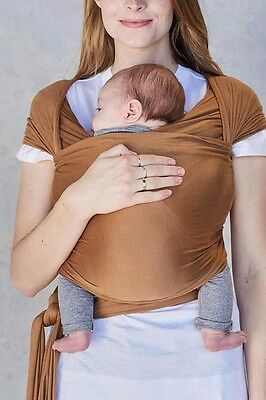 Solly Baby Wrap Camel Excellent Used Condition Infant Carrier
