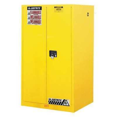 JUSTRITE JUS 896000 Flammable Safety Cabinet,60 gal. G5771425