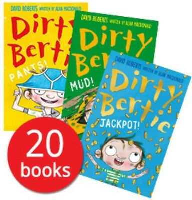 Dirty Bertie Collection - 20 Books