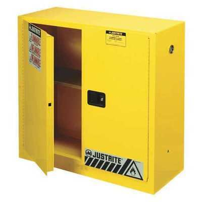 JUSTRITE JUS 893000 Flammable Safety Cabinet,30 gal. G5771431