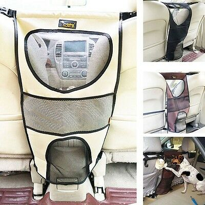 Pet Car Seat Barrier Dog Travel Isolation Net Kid Vehicle Safety Protection Mesh