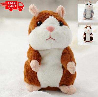 Cute Talking Hamster Toy Mimicry Pet Plush Toy Kids Speak Talking Sound USA