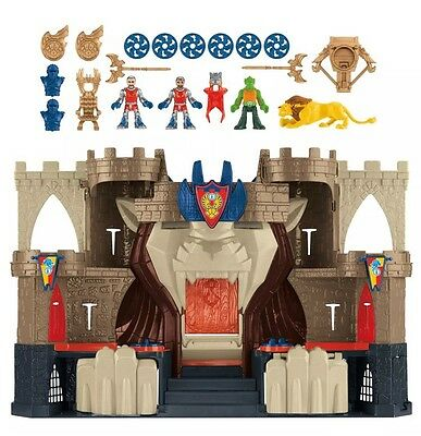 Fisher Price Early learning Imaginext Castle Lions Den with accessories gift Toy