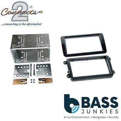 VOLKSWAGEN VW CRAFTER DOUBLE DIN FACIA FASCIA PLATE 2 DIN FITTING KIT CT23VW02