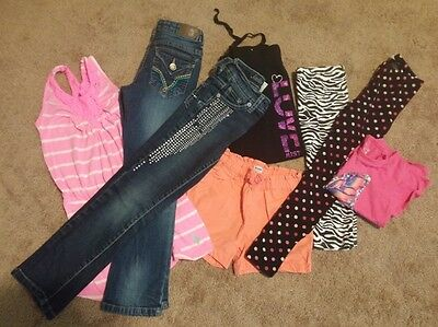 girls clothes size 6 - mixed items Justice, old navy, polo