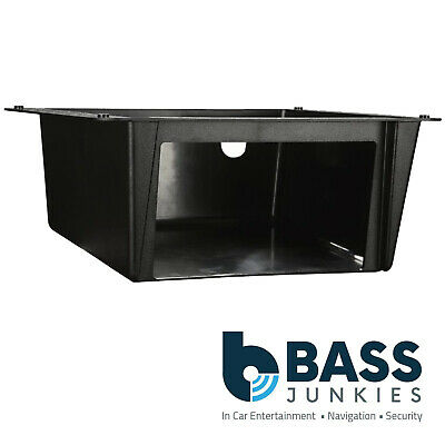 VW Camper Van Double DIN Car Stereo Under Tray Pocket Fascia Mounting Plate