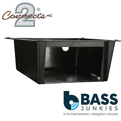 VW Classic Beetle  Double DIN Car Stereo Under Tray Pocket Fascia Mounting Plate
