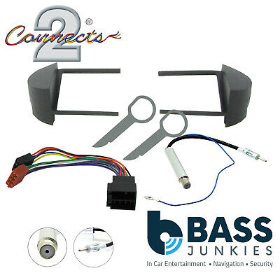 VW Beetle 1998-2011 Car Stereo Single Din Fascia & Aerial Fitting  Kit FP-17-01