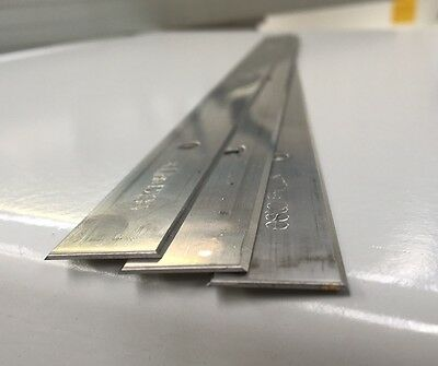 3 Pcs Planer Blades 410 x 18.6 x 1 for Hammer High Quality -HAMMER HOLE CENTRES