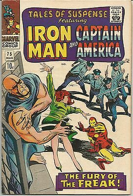 Tales of Suspense #75 : March 1966 : 1st Appearance of Sharon Carter