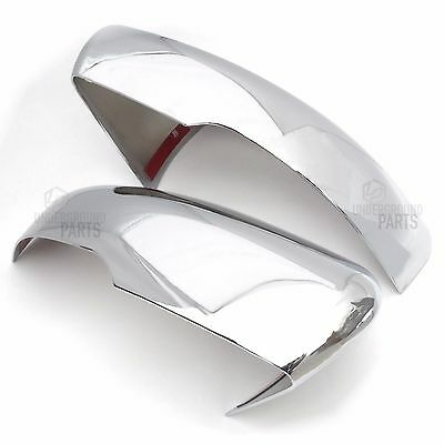 Range Rover Evoque 2011> Chrome Side Door Wing Mirrors Styling Kit Covers Caps