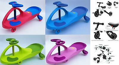 New Drift Wiggle Scooter Swivel Gyro Swing Car Ride Twist Go Kid Toy Child Wheel