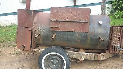 Pull behind Smoker 6 ft x 3ft