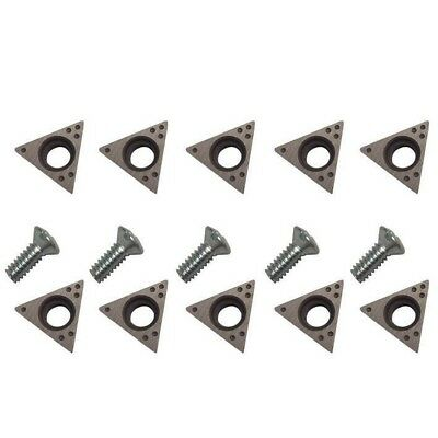 USA .032 9076816 10 Piece Online Auto Supply for 7681 AMMCO Brake Lathe Bits Positive Rake