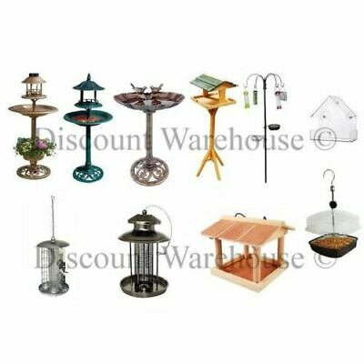 New Bird Bronze Solar Ornamental Bath Garden Lantern Feeding Station Table