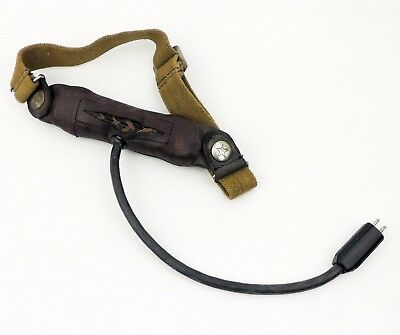 Chinese Military Air Force Aviator Throat Microphone Pilot Mike