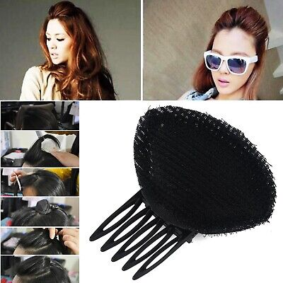 Woman Bump It Up Volume Hair Inserts With Clip Back Do Beehive Hair Styler DIY