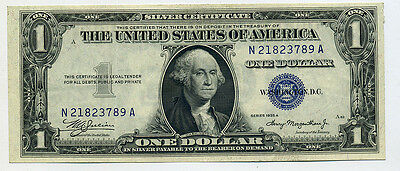 1935-A $1.00 Silver Certificate MULE NOTE  Nice AU Condition!
