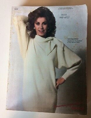 Sears Catalog 1985 Fall and Winter