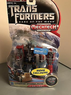 Transformers Dark of the moon DOTM deluxe lunar fire optimus prime Lot